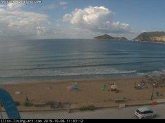 view from Agios Georgios NW Corfu Greece on 2019-10-06