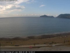 view from Agios Georgios NW Corfu Greece on 2020-01-05