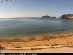 view from Agios Georgios NW Corfu Greece on 2020-01-08