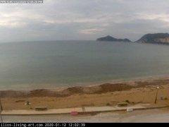 view from Agios Georgios NW Corfu Greece on 2020-01-12