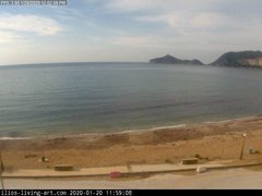 view from Agios Georgios NW Corfu Greece on 2020-01-20