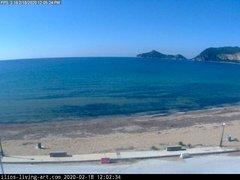 view from Agios Georgios NW Corfu Greece on 2020-02-18