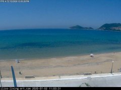 view from Agios Georgios NW Corfu Greece on 2020-07-02