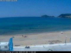 view from Agios Georgios NW Corfu Greece on 2020-07-09