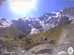 view from Rifugio Zamboni on 2019-09-03