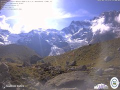 view from Rifugio Zamboni on 2019-09-14