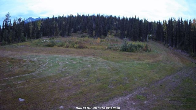 time-lapse frame, Nordic Centre Lodge webcam