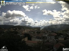 view from Armungia on 2020-04-27
