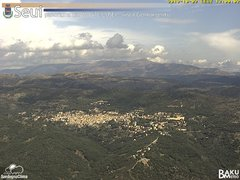 view from Monte Lusei Seui on 2019-10-02