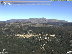 view from Monte Lusei Seui on 2019-10-08