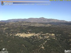 view from Monte Lusei Seui on 2019-10-11