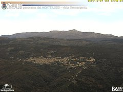 view from Monte Lusei Seui on 2019-12-07