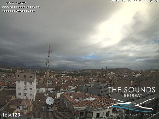 time-lapse frame, 2019-10-17 12:00-19:48 webcam