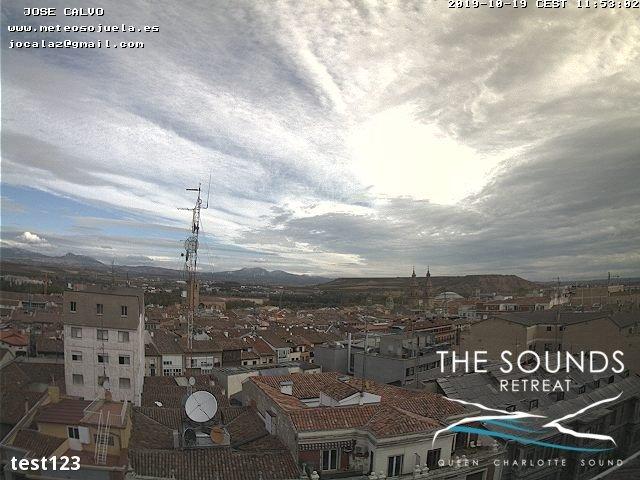 time-lapse frame, 2019-10-19 12:00-19:48 webcam