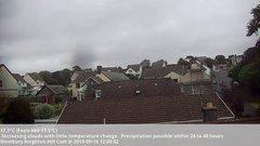 view from Wembury, Devon. Knighton Hill Cam on 2019-09-16
