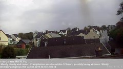 view from Wembury, Devon. Knighton Hill Cam on 2019-10-18