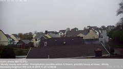 view from Wembury, Devon. Knighton Hill Cam on 2019-11-25