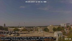 view from University Place Apartments - West Weather on 2019-09-09
