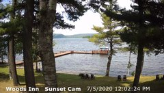 view from 4th Lake, Inlet, NY on 2020-07-05