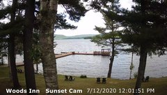 view from 4th Lake, Inlet, NY on 2020-07-12