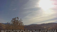 view from Horseshoe Bend, Idaho CAM2 on 2019-11-04