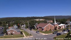 view from Highland Park Hose Co. #1 on 2019-09-18