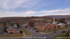 view from Highland Park Hose Co. #1 on 2019-11-10