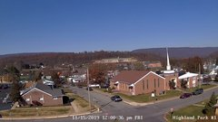 view from Highland Park Hose Co. #1 on 2019-11-15