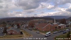 view from Highland Park Hose Co. #1 on 2019-11-20