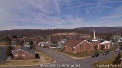 view from Highland Park Hose Co. #1 on 2020-02-15