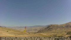 view from Horseshoe Bend, Idaho CAM1 on 2019-09-02