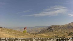 view from Horseshoe Bend, Idaho CAM1 on 2019-09-15