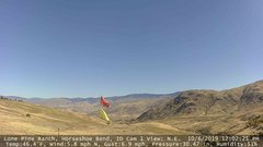 view from Horseshoe Bend, Idaho CAM1 on 2019-10-06