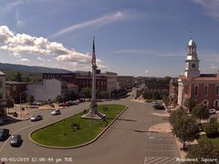 view from 13 East Market Street - Lewistown PA (west) on 2019-09-03