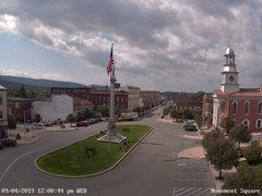 view from 13 East Market Street - Lewistown PA (west) on 2019-09-04