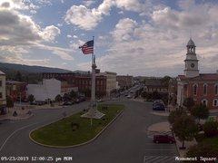 view from 13 East Market Street - Lewistown PA (west) on 2019-09-23