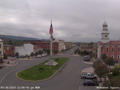 view from 13 East Market Street - Lewistown PA (west) on 2019-09-30