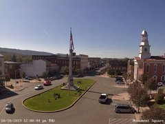 view from 13 East Market Street - Lewistown PA (west) on 2019-10-10