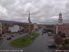 view from 13 East Market Street - Lewistown PA (west) on 2019-10-31