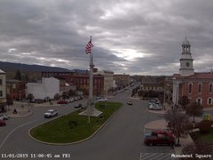 view from 13 East Market Street - Lewistown PA (west) on 2019-11-01