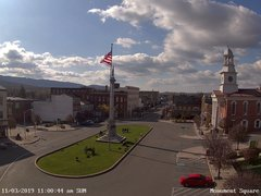 view from 13 East Market Street - Lewistown PA (west) on 2019-11-03