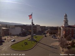 view from 13 East Market Street - Lewistown PA (west) on 2019-11-06