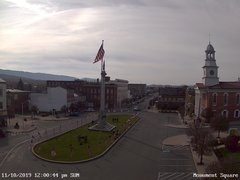 view from 13 East Market Street - Lewistown PA (west) on 2019-11-10