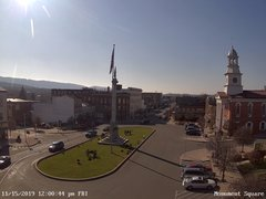 view from 13 East Market Street - Lewistown PA (west) on 2019-11-15