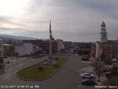 view from 13 East Market Street - Lewistown PA (west) on 2019-11-21