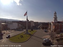 view from 13 East Market Street - Lewistown PA (west) on 2019-11-25