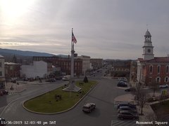 view from 13 East Market Street - Lewistown PA (west) on 2019-11-30