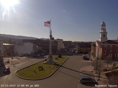view from 13 East Market Street - Lewistown PA (west) on 2019-12-11