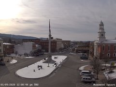 view from 13 East Market Street - Lewistown PA (west) on 2020-01-09