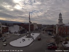 view from 13 East Market Street - Lewistown PA (west) on 2020-01-10